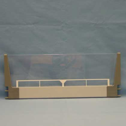Kit Bed Side Large Fr Gray