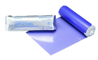 Sony UPT210BL Blue Thermal Transparency Film  (42 prints per roll / 5 rolls per case)