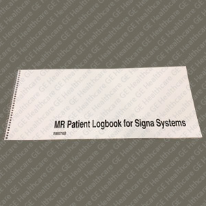 GE MRI Patient Logbooks for Signa Systems